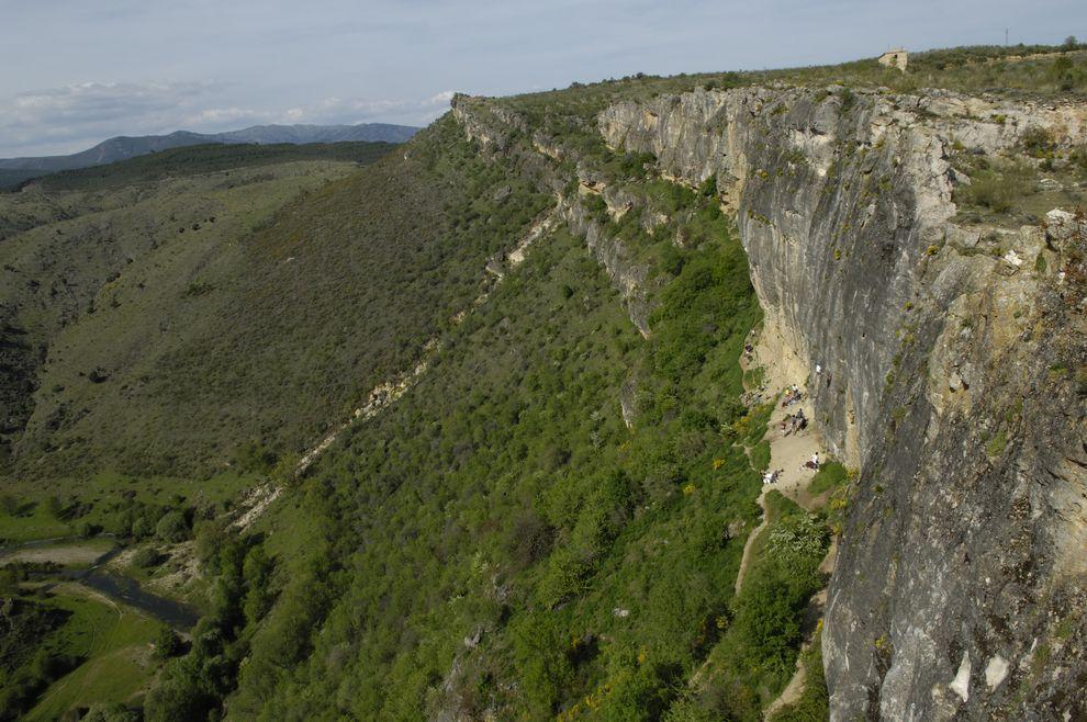 Vista general de Patones.