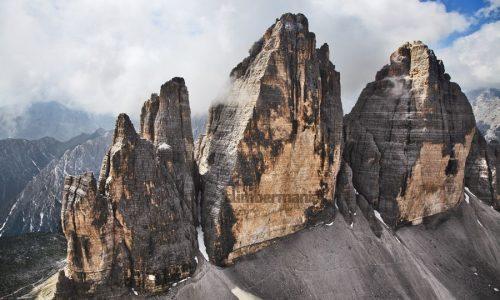Panaroma 8c. Cima Oeste de Lavaredo, cara norte, Dolomitas (Italia)