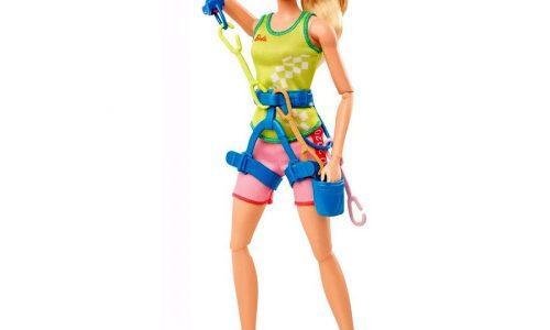 Barbie escaladora JJOO